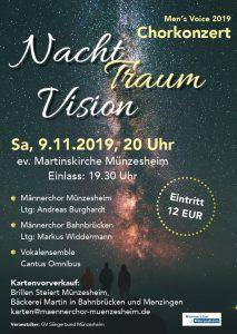 Nacht, Traum, Vision – Chorkonzert